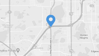 Map of our Orlando location